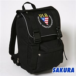Martial Arts Gear Bag NKF Backpack Black