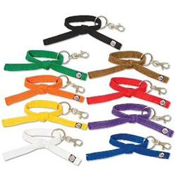 Martial Arts Accessories Keychain Rank Belt