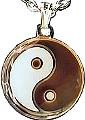 Martial Arts Accessories Necklace Mood Yin Yang