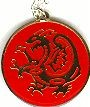 Martial Arts Accessories Necklace Gold Dragon