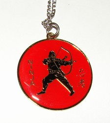 Martial Arts Accessories Necklace Ninja Warrior