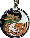 Martial Arts Accessories Medallion Tiger Dragon