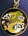 Martial Arts Accessories Medallion Dragon Yin Yang