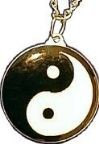 Martial Arts Accessories Medallion Yin Yang