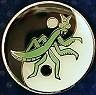 Martial Arts Accessories Pin Mantis Yin Yang