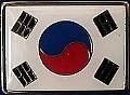 Martial Arts Accessories Pin Korea Flag