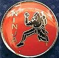 Martial Arts Accessories Pin Ninja