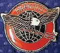Martial Arts Accessories Pin Hapkido Eagle