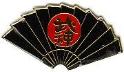 Martial Arts Accessories Pin Warrior Fan Bujin