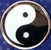 Martial Arts Accessories Pin Yin Yang