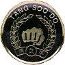 Martial Arts Accessories Pin Tangsoodo Symbol