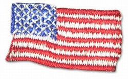 Martial Arts Accessories Patch USA Flag