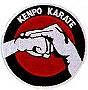 Martial Arts Accessories Patch Kenpo Karate Salute