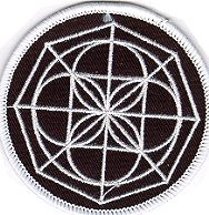 Martial Arts Accessories Patch Spider Web Crest