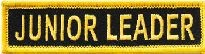 Martial Arts Accessories Patch Iron On Jr Leader