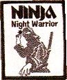 Martial Arts Accessories Patch Night Warrior