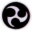 Martial Arts Accessories Patch Okinawan Symbol