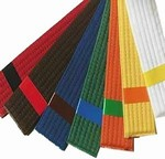 Martial Arts Accessories Patch Achieve Belt Stripe