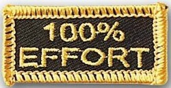 Martial Arts Accessories Patch 100 Effort
