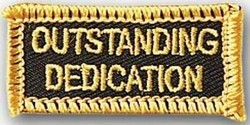 Martial Arts Accessories Patch Dedication