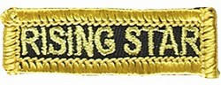 Martial Arts Accessories Patch Rising Star