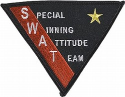 Martial Arts Accessories Patch Swat