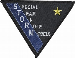 Martial Arts Accessories Patch Storm
