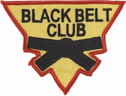 Martial Arts Accessories Patch Black Belt Club