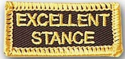 Martial Arts Accessories Patch Stance