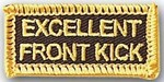 Martial Arts Accessories Patch Front Kick