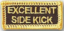 Martial Arts Accessories Patch Side Kick