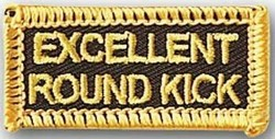Martial Arts Accessories Patch Round Kick
