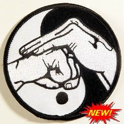 Martial Arts Accessories Patch Yin Yang Covered Fist