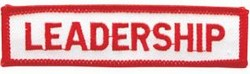 Martial Arts Accessories Patch Leadership