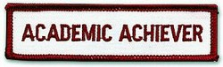 Martial Arts Accessories Patch Achiever