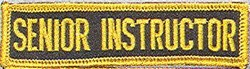 Martial Arts Accessories Patch Senior Instructor