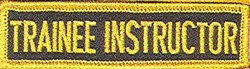 Martial Arts Accessories Patch Train Instructor