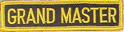 Martial Arts Accessories Patch Grand Master