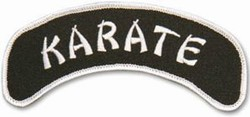 Martial Arts Accessories Patch Karate Arch