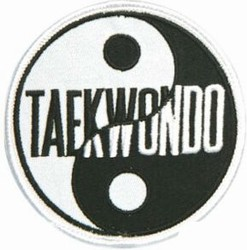 Martial Arts Accessories Patch Taekwondo Yin Yang