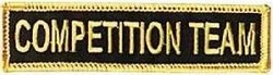 Martial Arts Accessories Patch Competition Team