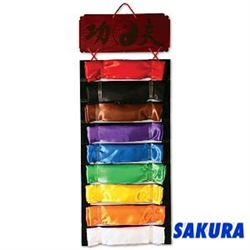 Martial Arts Accessories Kung Fu Sash Display Rack