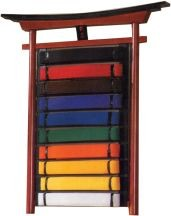 Martial Arts Accessories Rank Belt Display Torii