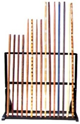 Martial Arts Accessories Rack Weapon Bo Staff Stand Display