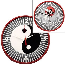 Martial Arts Accessories Martial Arts Clock