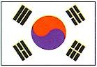 Martial Arts Accessories Wall Flag Korea