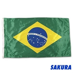 Martial Arts Accessories Wall Flag Brazil