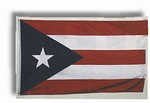 Martial Arts Accessories Wall Flag Puerto Rico