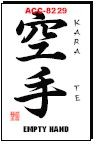 Martial Arts Accessories Kanji Karate