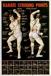 Martial Arts Accessories Poster Karate Striking